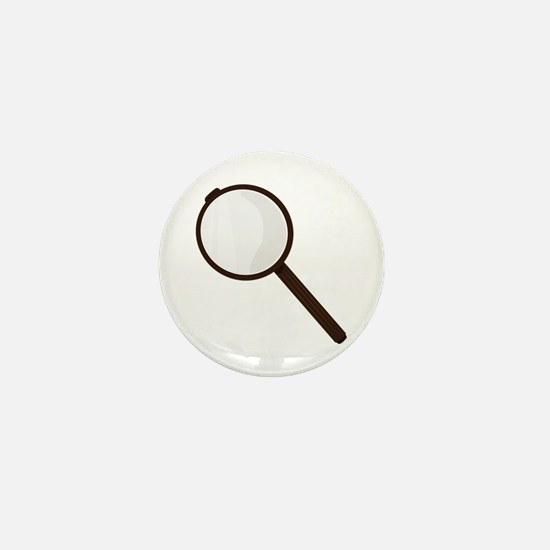 Magnifying Glass Mini Button