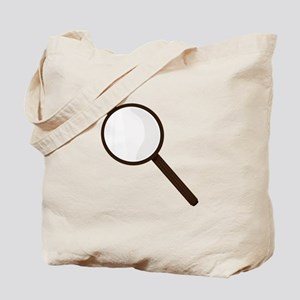 Magnifying Glass Tote Bag