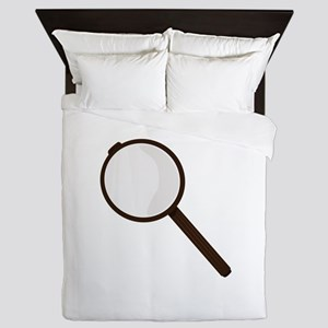 Magnifying Glass Queen Duvet