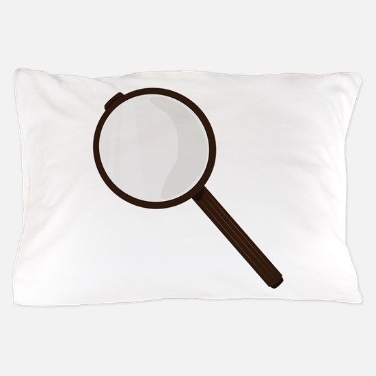 Magnifying Glass Pillow Case