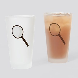 Magnifying Glass Drinking Glass