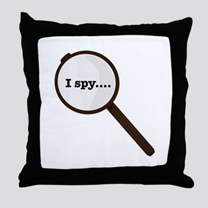I Spy Throw Pillow