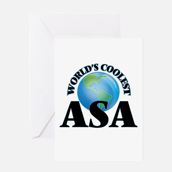 World's Coolest Asa Greeting Cards