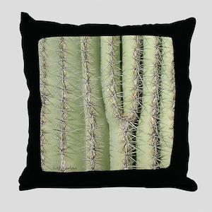 Saguaro Detail Throw Pillow