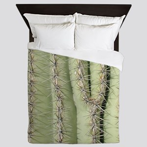 Saguaro Detail Queen Duvet