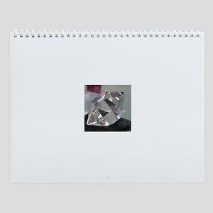Perfect Crystal Wall Calendar