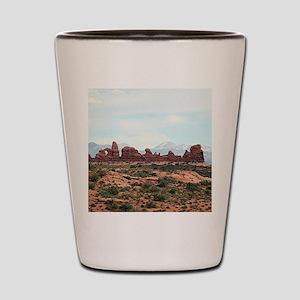 Arches National Park, Utah, USA 13 Shot Glass