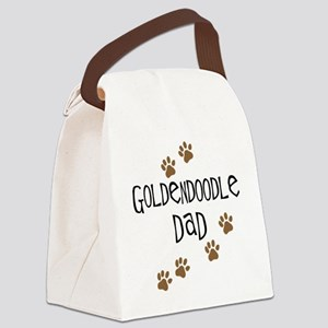 Goldendoodle Dad Canvas Lunch Bag