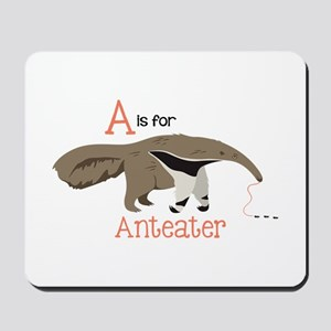 A is for Anteater Mousepad