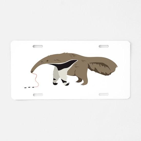 Anteater Ants Aluminum License Plate