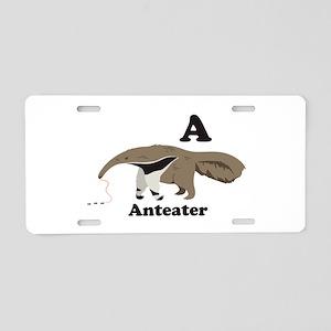 A Anteater Aluminum License Plate