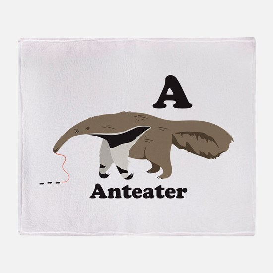 A Anteater Throw Blanket