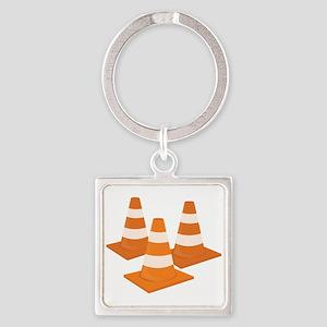 Traffic Cones Keychains