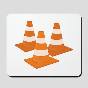 Traffic Cones Mousepad
