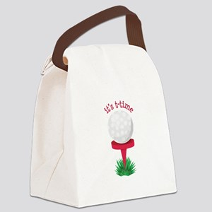 Its T-Time Canvas Lunch Bag