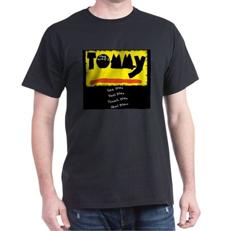 The Who's Tommy, LIVE on stag Dark T-Shirt