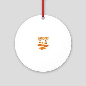 Danger Ornament (Round)