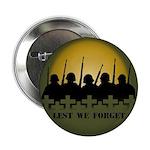 "Lest We Forget Remembrance 2.25"" Button"
