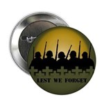 Remembrance Day Button Lest We Forget