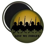 Remembrance Day Magnets 100 pack Lest we Forget