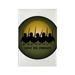 Remembrance Day Rectangle Magnet (100 pack)