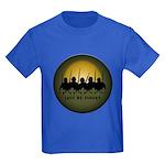 Lest We Forget Remembrance Kids Dark T-Shirt