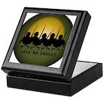 Lest We Forget Remembrance Keepsake Box