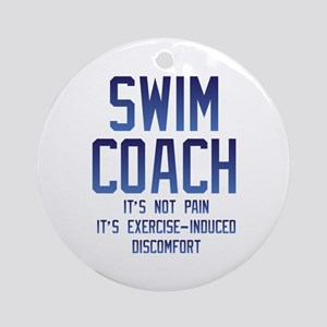 Swim Coach It's Exercise Induced Discomfort Round