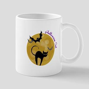 Halloween Cat Mugs