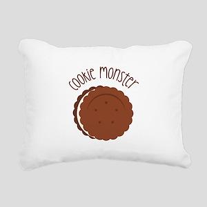 Cookie Monster Rectangular Canvas Pillow