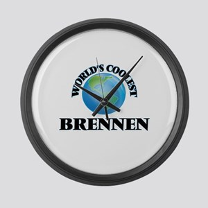 World's Coolest Brennen Large Wall Clock
