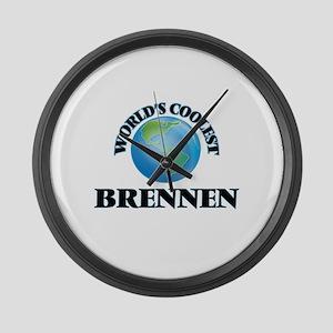 World's Coolest Brennen Large Wall Clock