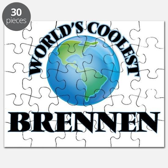 World's Coolest Brennen Puzzle