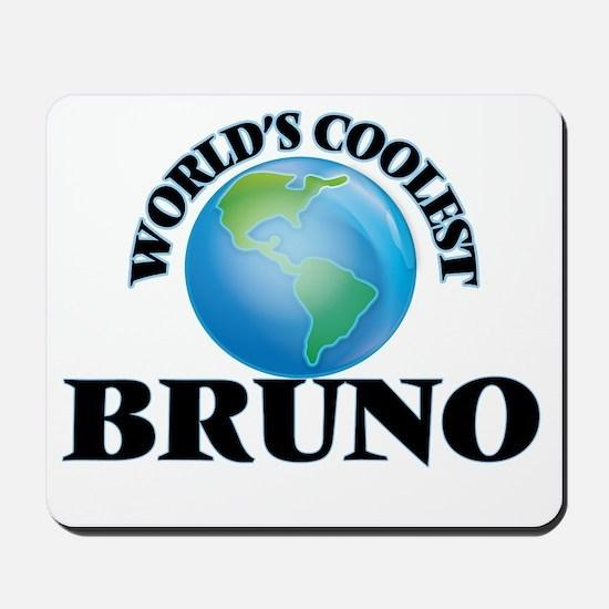 World's Coolest Bruno Mousepad