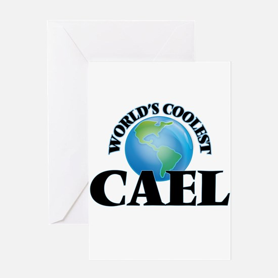 World's Coolest Cael Greeting Cards