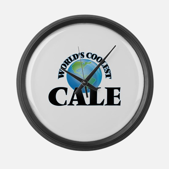 World's Coolest Cale Large Wall Clock