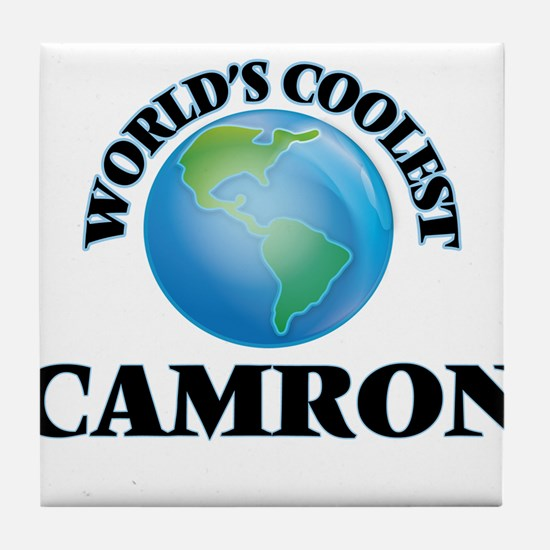 World's Coolest Camron Tile Coaster