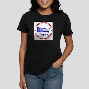 ~*LAND OF THE FREE*~ Women's Dark T-Shirt