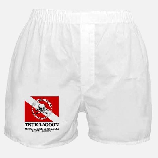 Truk Lagoon Boxer Shorts