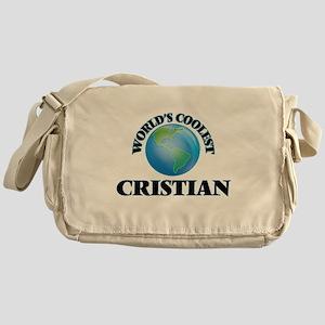 World's Coolest Cristian Messenger Bag