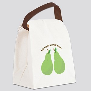 A Great Pear Canvas Lunch Bag