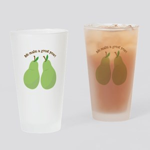 A Great Pear Drinking Glass
