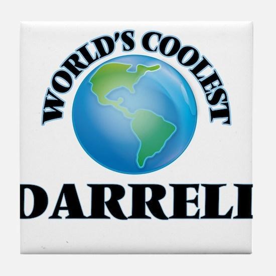 World's Coolest Darrell Tile Coaster