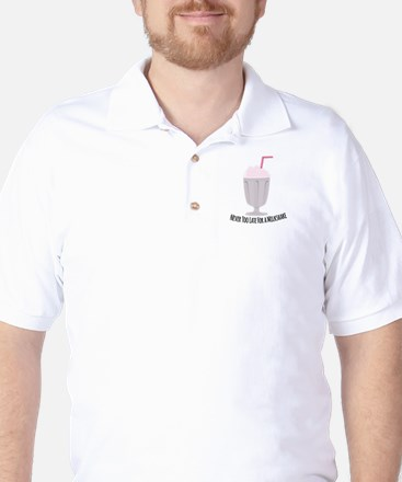 A Milkshake Golf Shirt