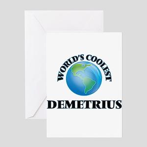 World's Coolest Demetrius Greeting Cards