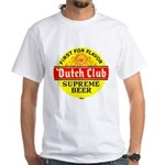 Dutch Club Beer-1952 White T-Shirt