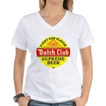 Dutch Club Beer-1952 Women's V-Neck T-Shirt