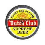 Dutch Club Beer-1952 Wall Clock
