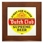 Dutch Club Beer-1952 Framed Tile