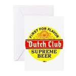Dutch Club Beer-1952 Greeting Cards (Pk of 10)